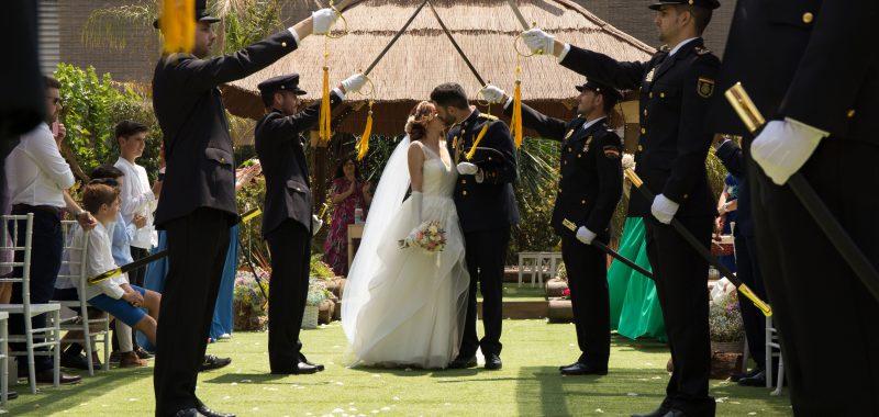 El gran momento de Andrea y David: una boda de ensueño
