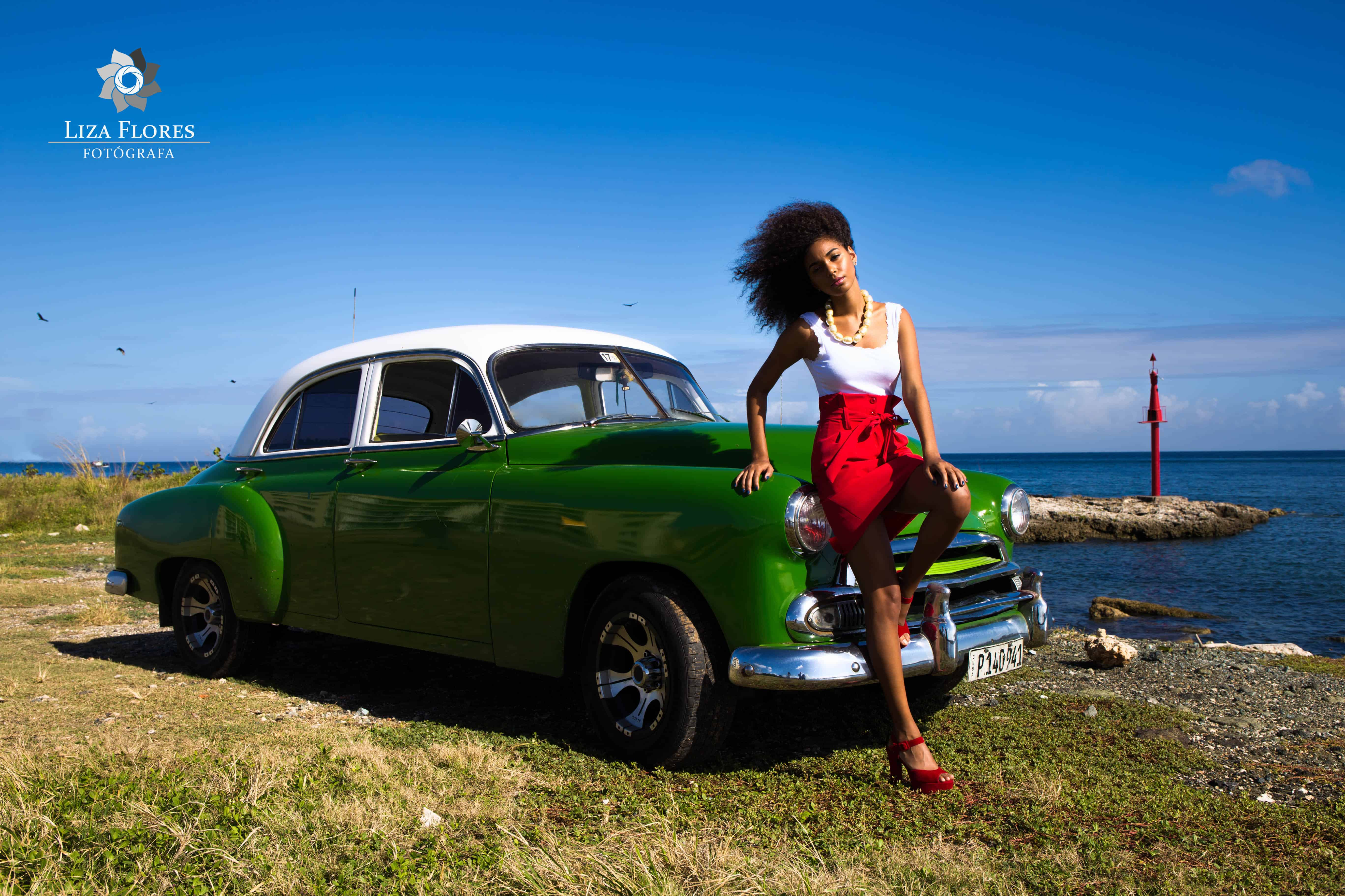 Modelo en La Habana